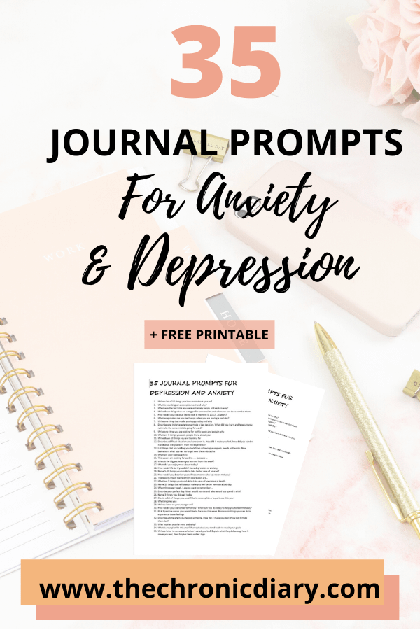 Journaling For Anxiety And Depression - 35 Journal Prompts