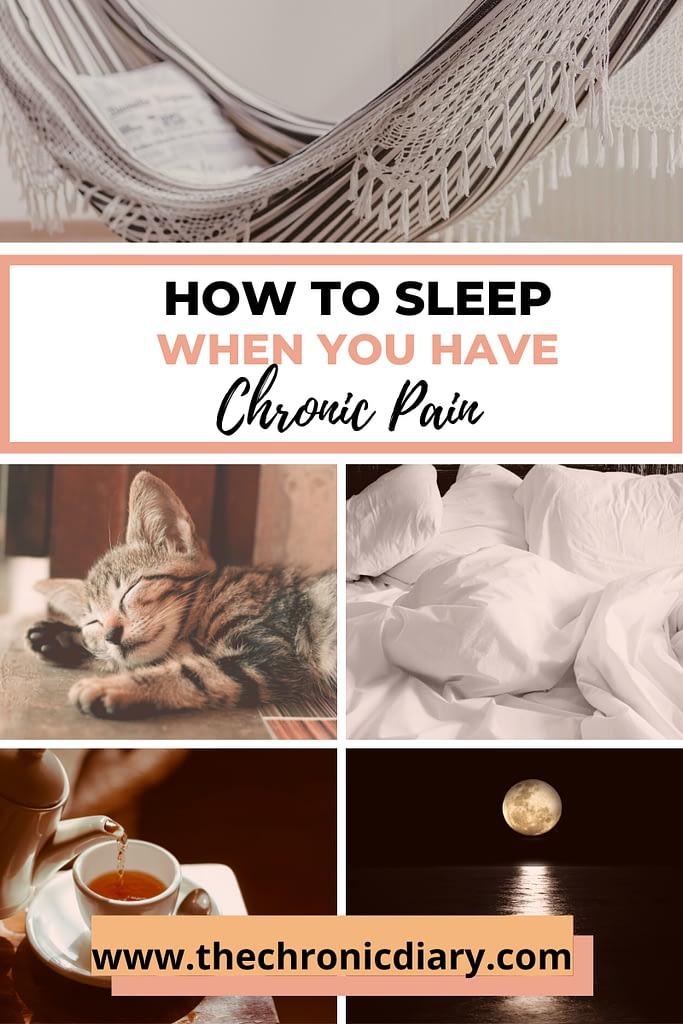 How to Sleep With Chronic Pain -  8 Tips To Get A Good Night's Sleep